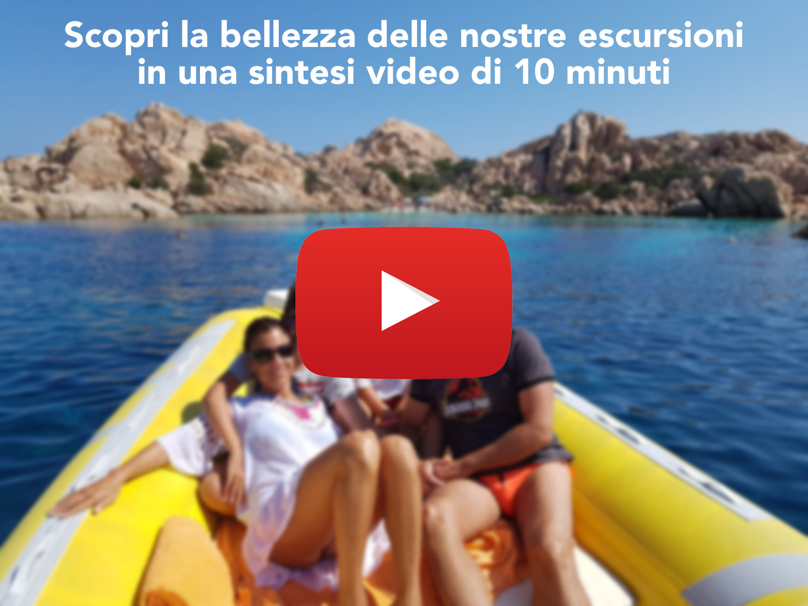 video escrursioni in gommone la maddalena